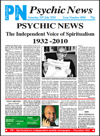 Psychic News - last issue